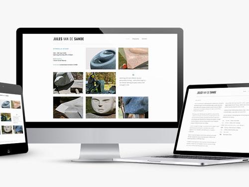 Jules van de Sande website